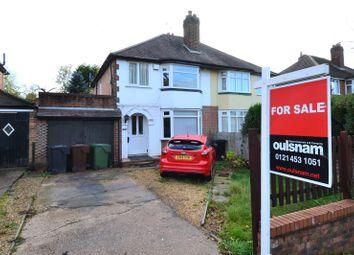 Whetty Lane, Rubery, Birmingham B45. 3 bed semi-detached house for sale
