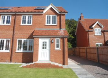 Thumbnail 3 bed semi-detached house to rent in Merrifield Road, Wainfleet, Skegness