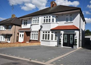 Thumbnail 3 bed semi-detached house for sale in Chadacre Avenue, Clayhall, Ilford