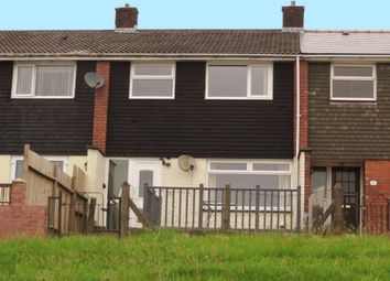 Thumbnail 3 bed terraced house to rent in Gurnos Estate, Gwent