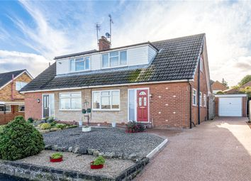 Thumbnail 3 bed semi-detached house for sale in Manor Drive, Knaresborough, North Yorkshire