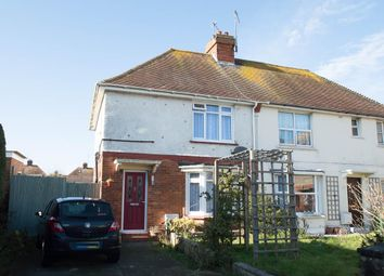 Thumbnail 3 bed semi-detached house for sale in Churchdale Avenue, Eastbourne