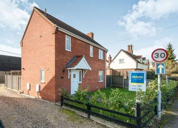 Thumbnail 3 bed detached house for sale in Newton Flotman, Norwich, Norfolk