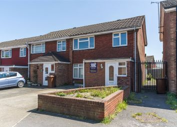 Thumbnail 3 bed end terrace house for sale in Fourwents Road, Hoo, Kent