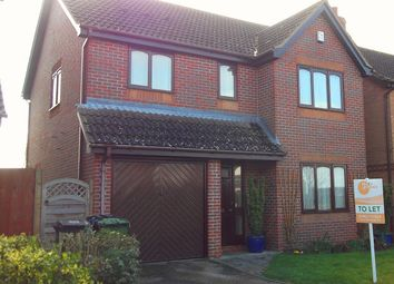 Thumbnail 4 bedroom detached house to rent in Worcester Way, Attleborough