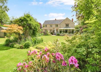 Thumbnail 4 bed detached house for sale in Whelford, Fairford, Gloucestershire