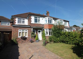 Thumbnail 5 bed semi-detached house for sale in Overdale Crescent, Urmston, Manchester