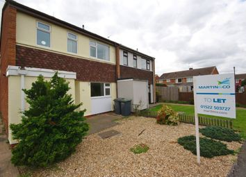 Thumbnail 3 bed semi-detached house to rent in Hutson Drive, North Hykeham, Lincoln