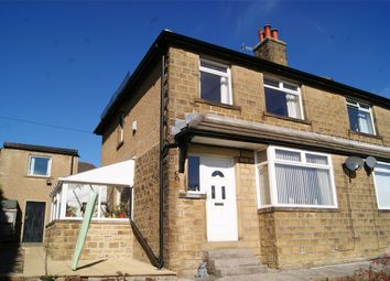 Thumbnail 3 bed semi-detached house for sale in Keighley Road, Oakworth, West Yorkshire