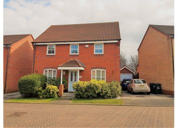 Thumbnail 4 bed detached house for sale in Badgers Croft, Newcastle