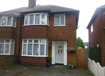 Thumbnail 3 bed semi-detached house to rent in Buckminster Road, Leicester