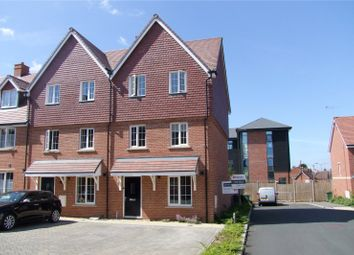 Thumbnail 4 bed end terrace house for sale in Edmonton Way, Liphook, Hampshire