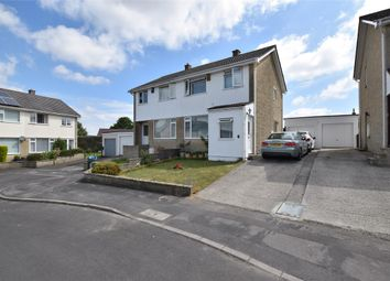 Thumbnail 3 bed semi-detached house for sale in Vicarage Gardens, Peasedown St. John, Bath, Somerset