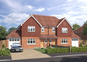 Thumbnail 3 bed semi-detached house for sale in The Greenways, Dovers Green Road, Reigate, Surrey