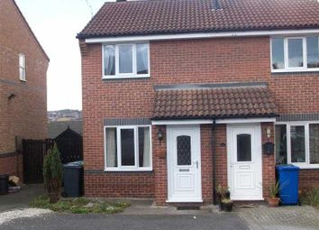 Thumbnail 2 bed town house for sale in Swalebank Close, Chesterfield