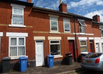 Thumbnail 4 bed terraced house to rent in Moss Street, Derby