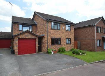 Thumbnail 4 bed detached house for sale in Agincourt Close, Wokingham