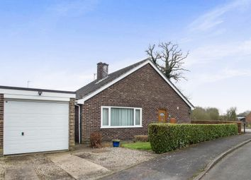 Thumbnail 3 bed detached bungalow for sale in Fairfield Road, Fair Green, King's Lynn