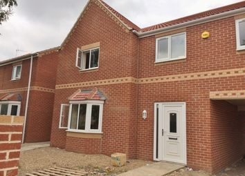 Thumbnail 3 bed end terrace house to rent in Church Road, Stainforth, Doncaster