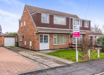 Thumbnail 3 bed semi-detached house for sale in Murdoch Rise, Loughborough