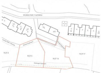 Thumbnail Land for sale in Hillside Park, Aberdovey, Gwynedd