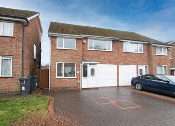 Thumbnail 3 bed semi-detached house for sale in Fradley Close, Kings Norton, Birmingham