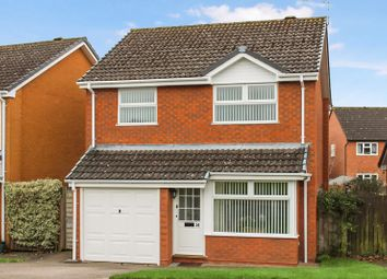 Thumbnail 3 bed detached house for sale in Copsewood Drive, Hereford