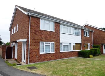 Thumbnail 2 bed maisonette to rent in Larch Crescent, Epsom