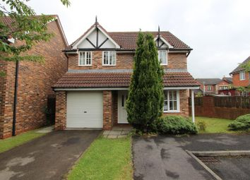 Thumbnail 3 bed detached house for sale in The Meadows, Middleton St. George, Darlington