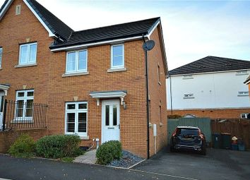Thumbnail 2 bed semi-detached house for sale in Viaduct Way, Bassaleg, Newport