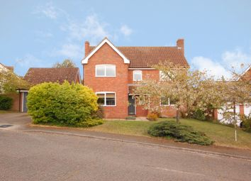 Thumbnail 4 bed detached house for sale in Drury Park, Snape, Saxmundham