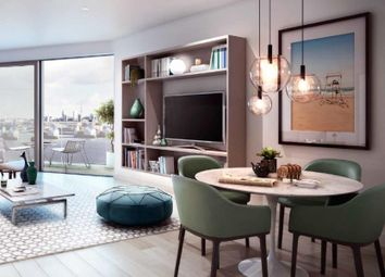 Thumbnail 2 bedroom flat for sale in Compass House, Royal Wharf, London