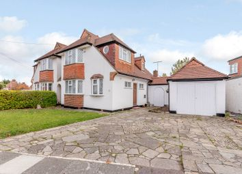 Thumbnail 3 bed property for sale in Knightwood Crescent, New Malden