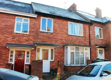 Thumbnail 3 bed terraced house for sale in Saxon Road, Exeter