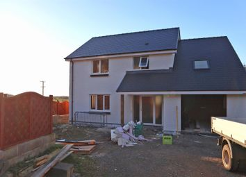 Thumbnail 4 bed detached house for sale in Ger Nirvana, Taliesin, Machynlleth