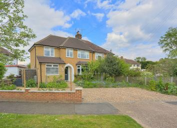 Thumbnail 4 bed semi-detached house for sale in Roestock Gardens, Colney Heath, St. Albans