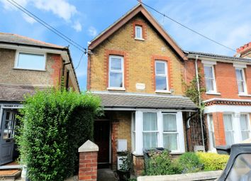 Thumbnail 1 bed flat for sale in Clare Road, Tankerton, Whitstable, Kent