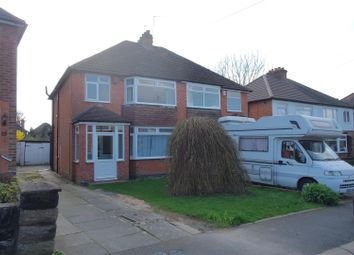 Thumbnail 3 bed property to rent in Velsheda Road, Shirley, Solihull