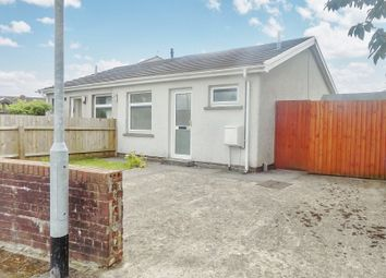 Thumbnail 1 bed semi-detached bungalow for sale in Heol-Yr-Onnen, Pencoed, Bridgend.