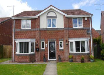 Thumbnail 4 bed detached house for sale in Ayton Court, Bedlington
