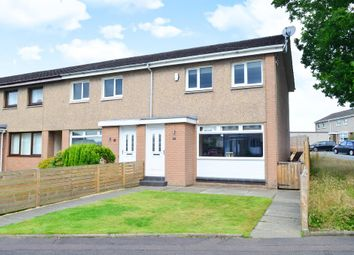 Thumbnail End terrace house for sale in Myers Crescent, Uddingston, Glasgow