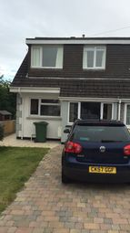 Thumbnail 3 bed semi-detached house to rent in Bryncastell, Bow Street, Aberystwyth
