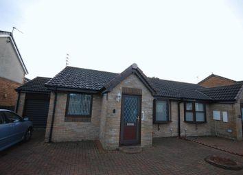 Thumbnail 2 bed semi-detached bungalow for sale in Fallowfield Way, Ashington