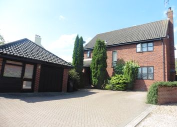 Thumbnail 4 bed detached house for sale in Chappel Hill, Fakenham
