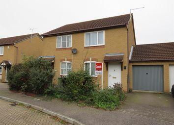 Thumbnail 2 bedroom semi-detached house for sale in Bantock Close, Browns Wood, Milton Keynes