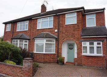 Thumbnail 4 bed semi-detached house for sale in Ferndale Road, Leicester