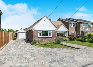 Thumbnail 3 bed detached bungalow for sale in Basin Road, Heybridge Basin, Maldon