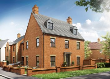 "Thumbnail 4 bed detached house for sale in ""The Evenley"" at Heathencote, Towcester"