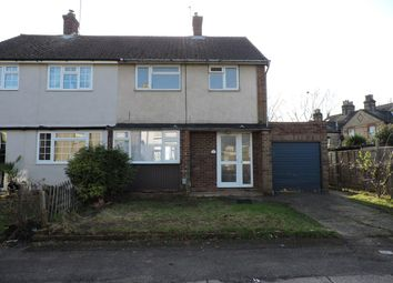 Thumbnail 3 bed semi-detached house to rent in Cromwell Road, Cheshunt