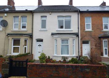Thumbnail 4 bedroom terraced house for sale in Meldon Terrace, Heaton, Newcastle Upon Tyne